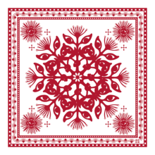 WEB OF EYES BANDANA