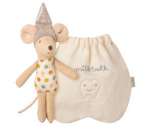 TOOTH FAIRY MOUSE WITH BAG