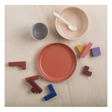 Load image into Gallery viewer, PINK BAMBOO DISH SET