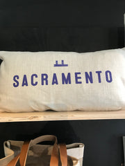 Sacramento Tower Bridge Pillow