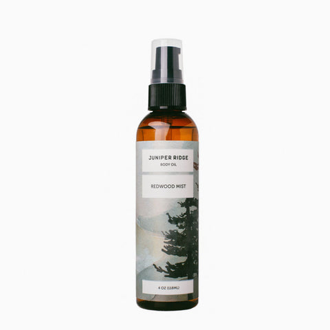 California Redwood Mist Body Oil