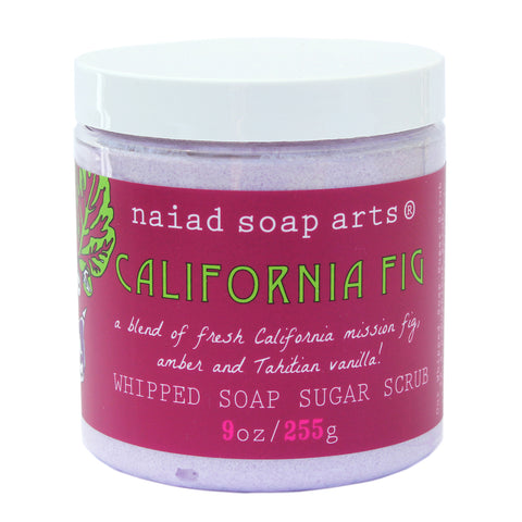 California Fig Whipped Soap Sugar Scrub