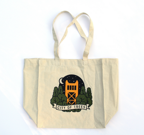 City of Trees Tote Bag