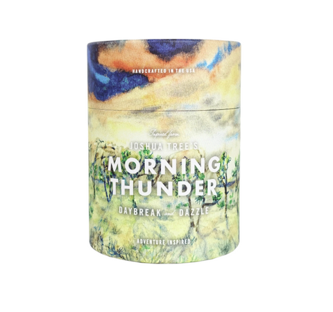 Joshua Tree National Park Morning Thunder Candle
