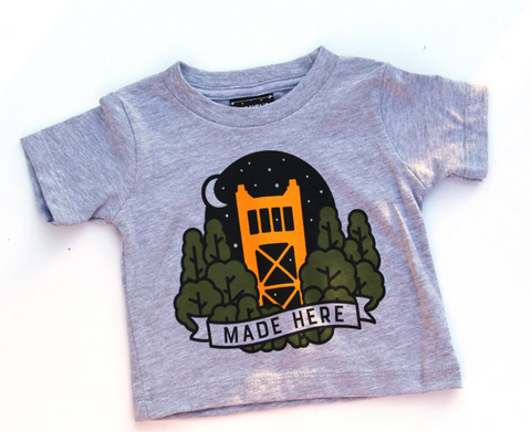 Sacramento Made Here Toddler Tee Shirt