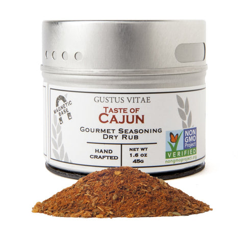 Taste of California Cajun Seasoning