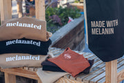 """Made with Melanin"" tote"
