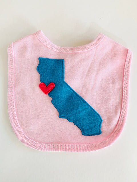 California Love Baby Bib