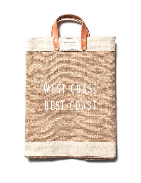West Coast Best Coast Market Tote Bag