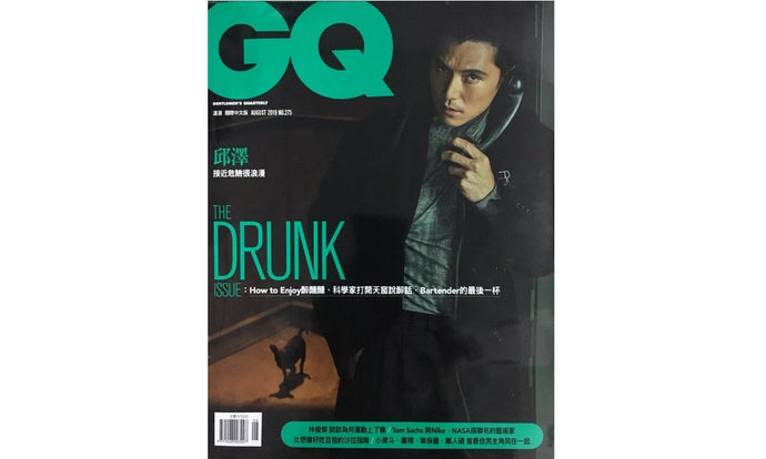 GQ:Back to Stage - Borsalino紳士帽for最佳男主角