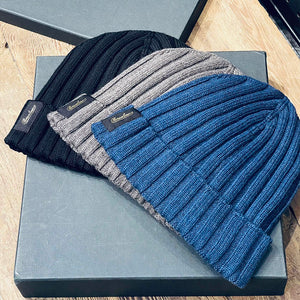 Borsalino/Cashwool knitting cap-3 colors - OBEIOBEI