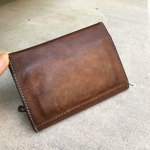 Vive La Difference/Brown card & coin case - OBEIOBEI