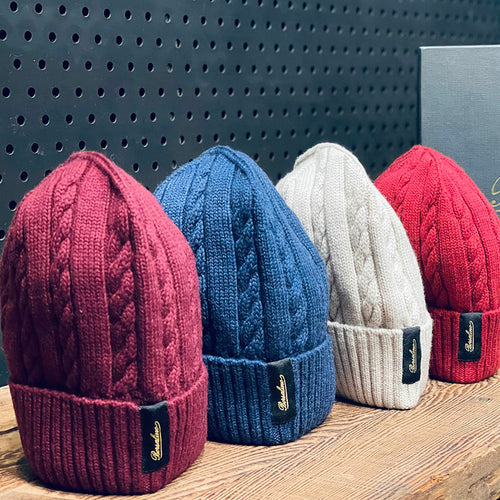 Borsalino/Cashwool knitting cap-4 colors - OBEIOBEI