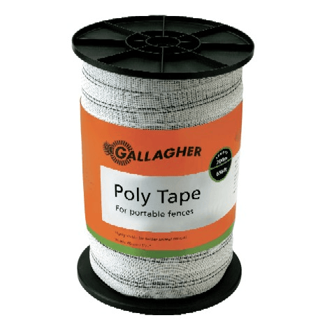 "Poly Tape - 1.5"" Width - Gallagher Fence"