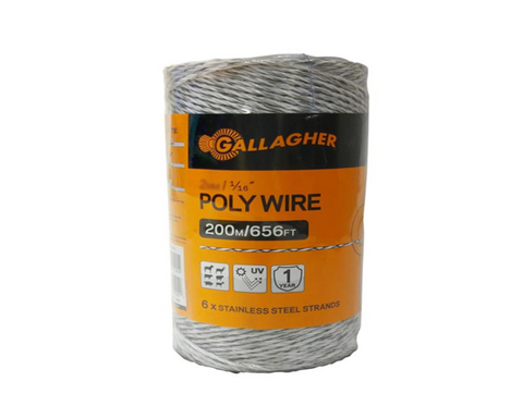 "Poly Wire - 1/16"" Thick"