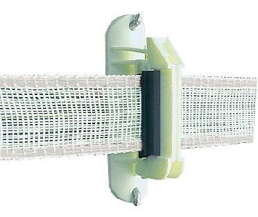"Locking 1 1/2"" PolyTape Insulator - Gallagher Fence"
