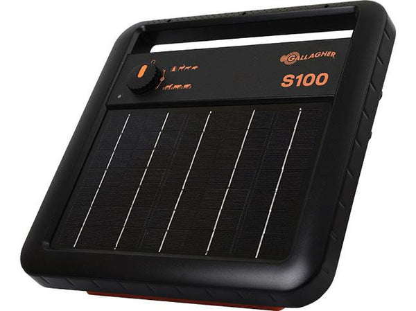 Gallagher S100 Solar Fence Charger Energizer
