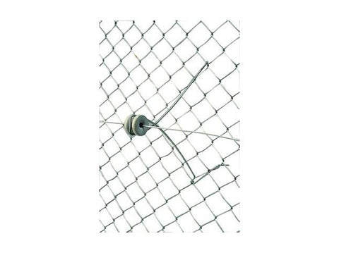 Chain Link Offset w/Porcelain Insulator - 12""