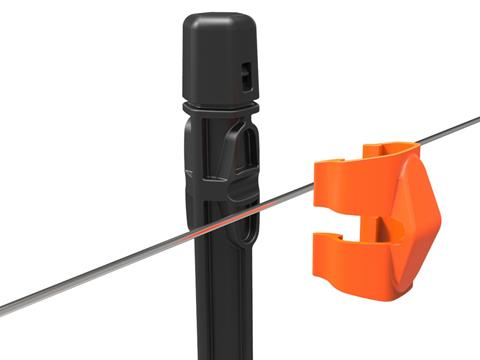 Insulated Line Post Clips