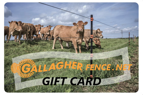 Gallagher Fence Gift Card