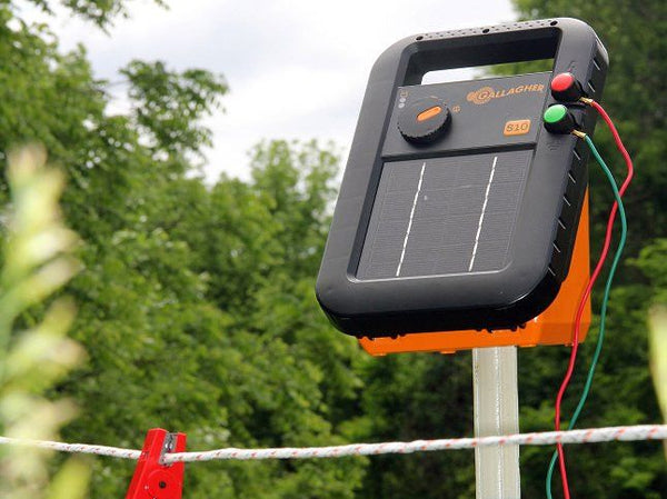 Gallagher S10 Solar Fence Charger / Energizer – Gallagher ...