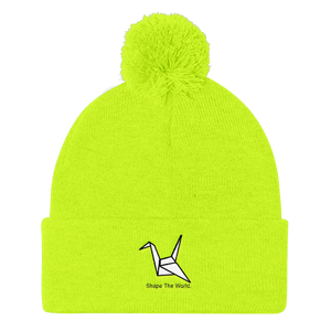 Shape The World Pom Pom Knit Cap