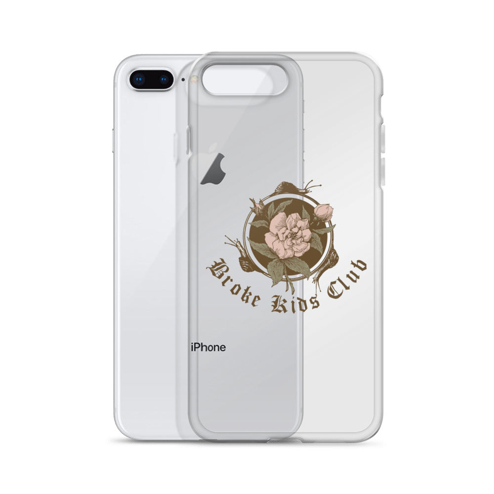Flowers N' Snails Phone Case