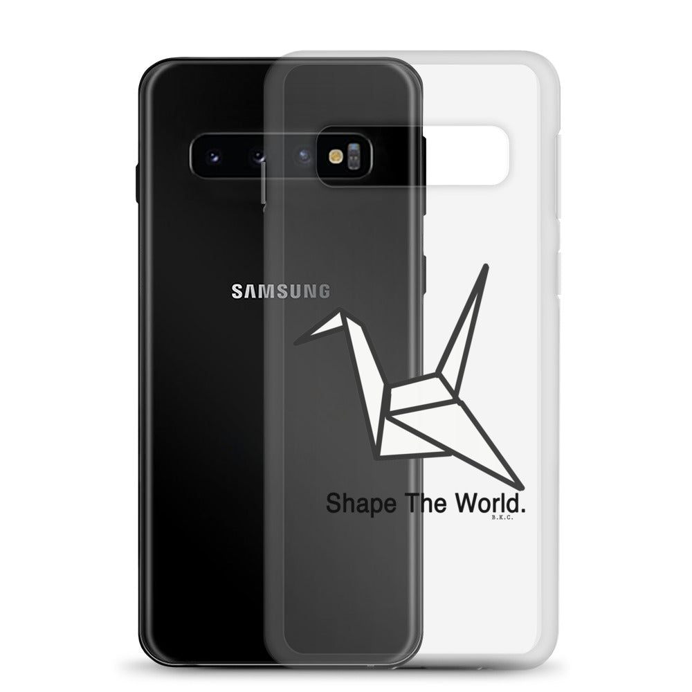 Shape The World Samsung Phone Case