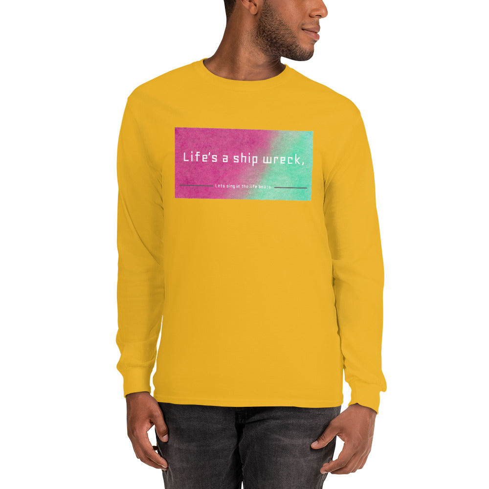 Shipwreck Long Sleeve Pink/Green