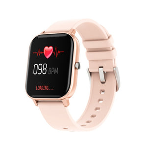 Makibes P8 1.4 inch Newest Design Smart Watch Men Full Touch Fitness Tracker Blood Pressure Smartband Clock Smartwatch for GTS