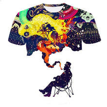 Load image into Gallery viewer, Funny 3D Tshirt Men Simulation Pattern Short Sleeve Summer Casual Round Neck Tops Colorful T-Shirt Streetwear Male Clothing