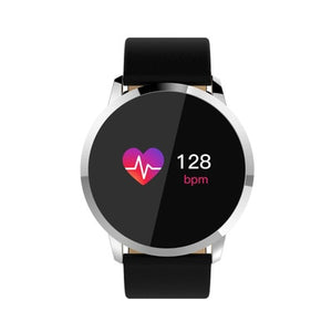 New Q8 Bluetooth Smart Watch Stainless Steel Waterproof Wearable Device Smartwatch Wristwatch Men Women Fitness Tracker Clock