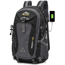 Load image into Gallery viewer, 40L unisex waterproof men backpack travel pack sports bag pack Outdoor Mountaineering Hiking Climbing Camping backpack for male