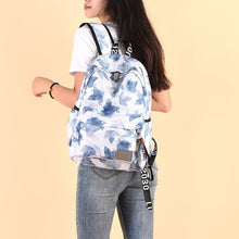 Load image into Gallery viewer, Print Hawaii Style Brand 2020 Backpacks For School Teenagers Girls Bags Fashion Women Travel Back Pack