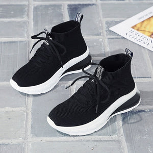 New Platform Sneakers Women Stylish Thick Sole Running Shoes Height Increasing 8 CM Chunky Sport Shoes Woman Chaussures Femme