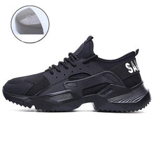 Load image into Gallery viewer, Men Shoes Work Safety Shoes Lightweight and Comfortable Non-slip Steel Toe Cap Wear-resistant Breathable Work Shoes