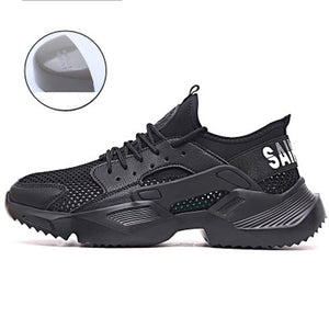Men Shoes Work Safety Shoes Lightweight and Comfortable Non-slip Steel Toe Cap Wear-resistant Breathable Work Shoes