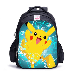 16 Inch Pokemon Haunter Eevee Children School Bags Orthopedic Backpack Kids School Boys Girls Mochila Infantil Catoon Bags
