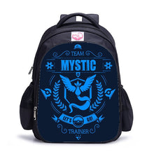 Load image into Gallery viewer, 16 Inch Pokemon Haunter Eevee Children School Bags Orthopedic Backpack Kids School Boys Girls Mochila Infantil Catoon Bags