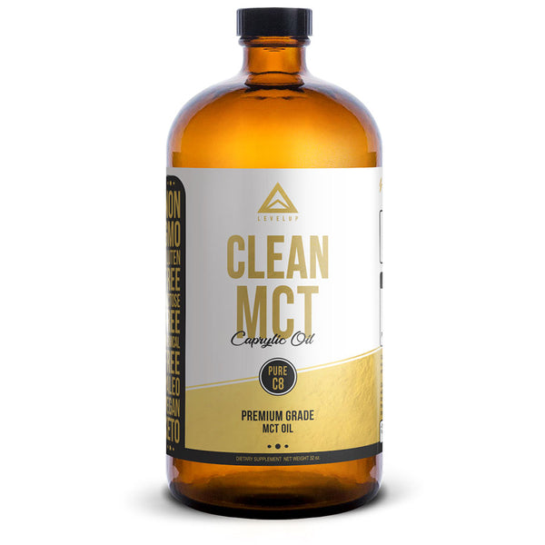 Levelup keto MCT oil, clean MCT with pure C8