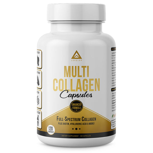 Levelup multi-collagen capsules
