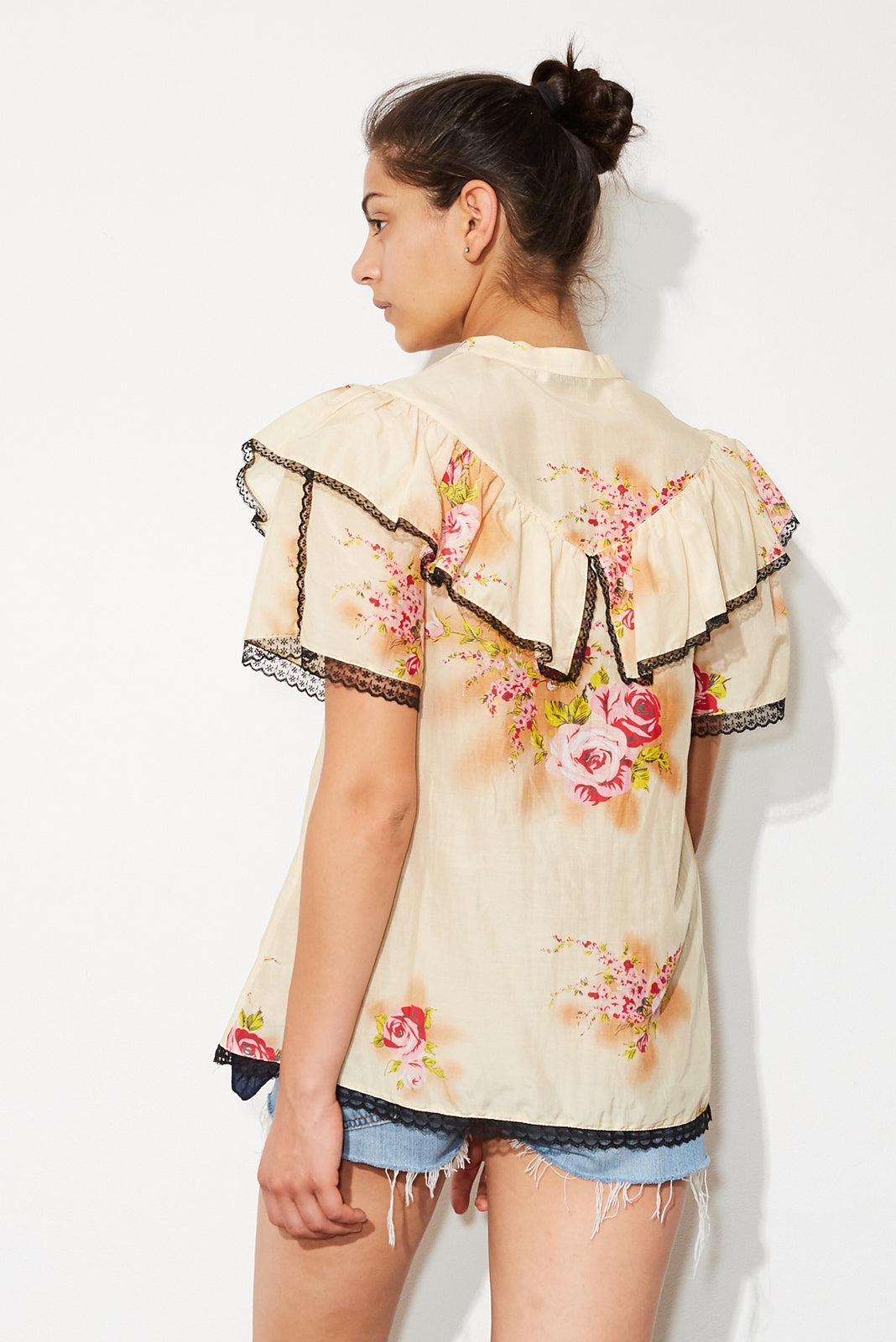 doves blouse * posey print