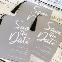 Load image into Gallery viewer, Tassel Save The Date