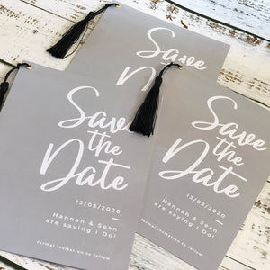 Tassel Save The Date
