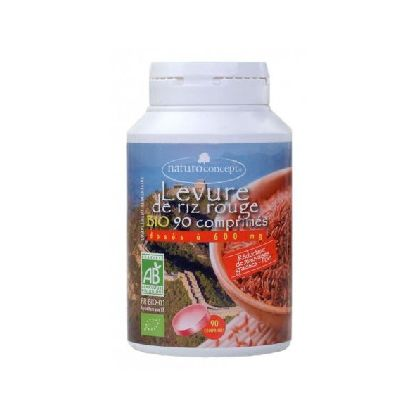 LEVURE RIZ ROUGE 600MG X90CPS