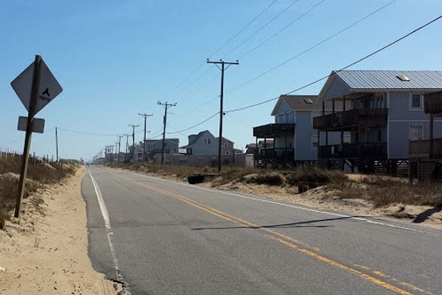 Beach Road Kitty Hawk NC Outer Banks