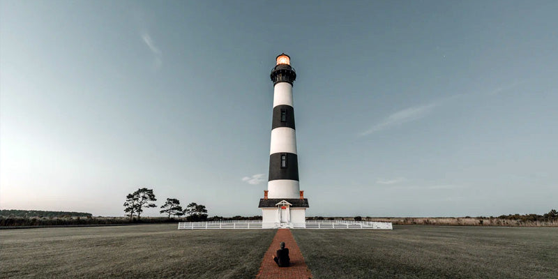 Bodie Island Lighthouse at Night Nags Head, NC