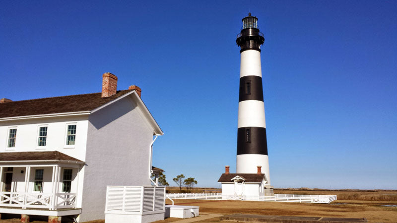 Bodie Island Lighthouse Located in Nags Head, NC