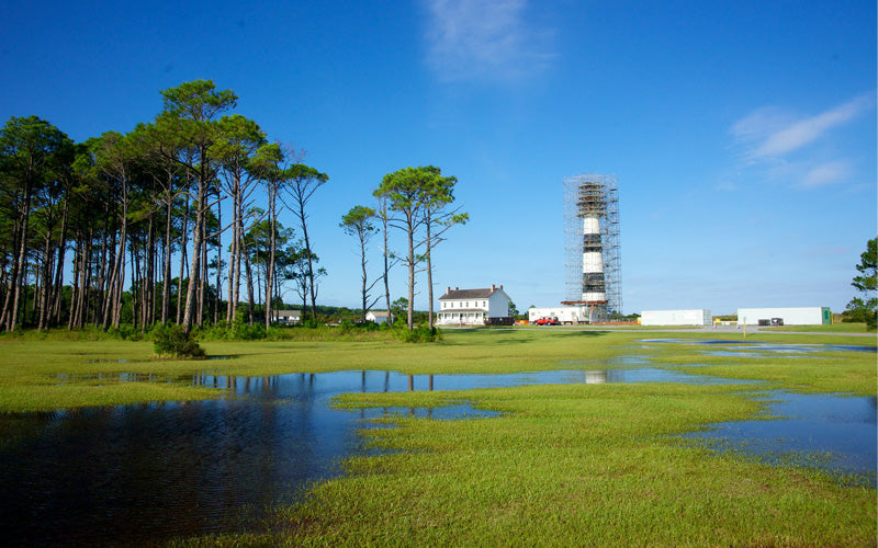 Bodie Island Lighthouse Renovations 2009 2013