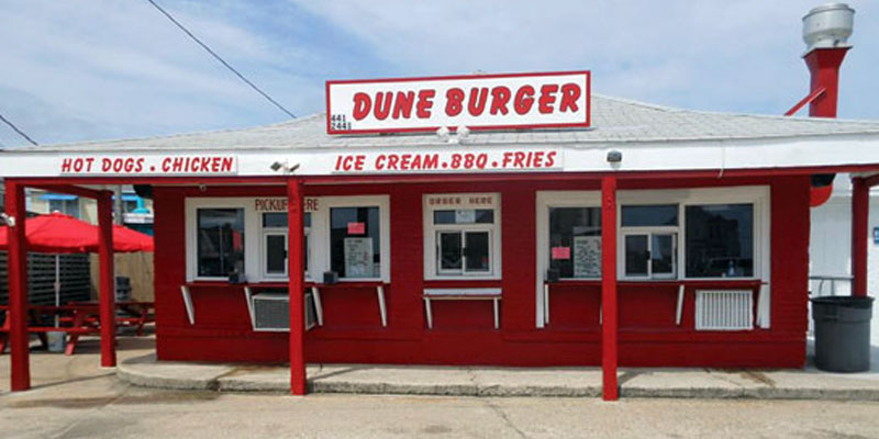 Dune Burger Restaurant in Nags Head, NC